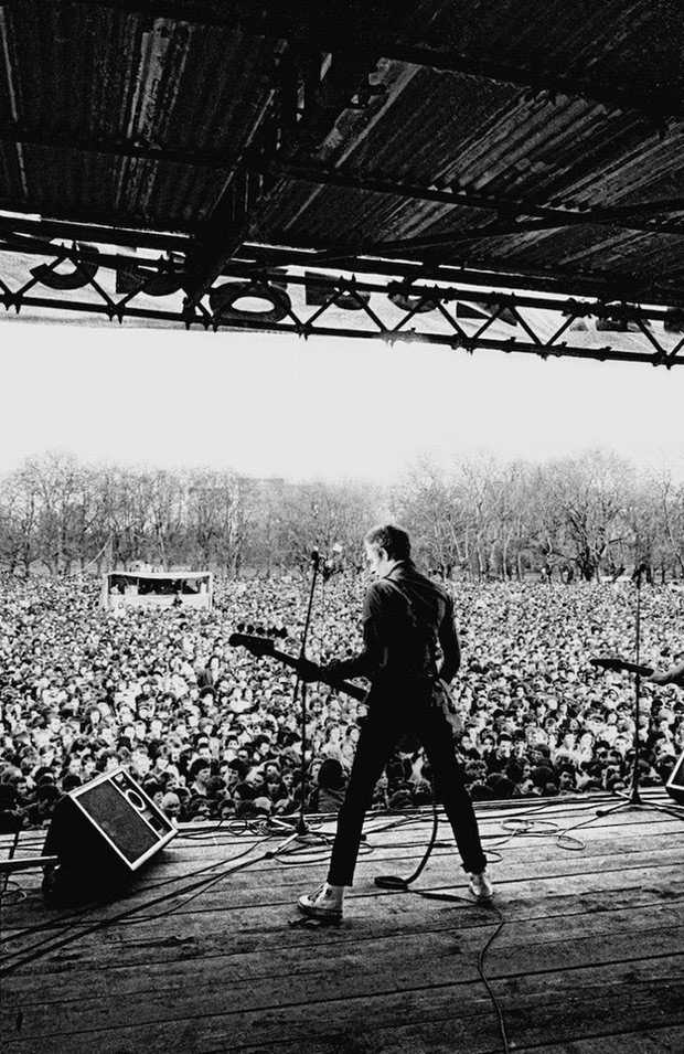 The Clash at Rock Against Racism, Victoria Park, 30 April 1978