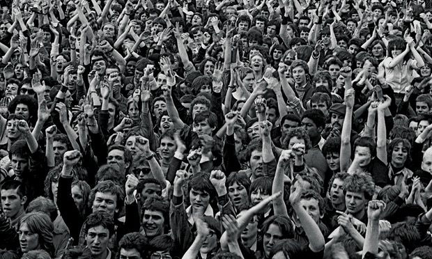 Rock Against Racism in Victoria Park 30 April 1978