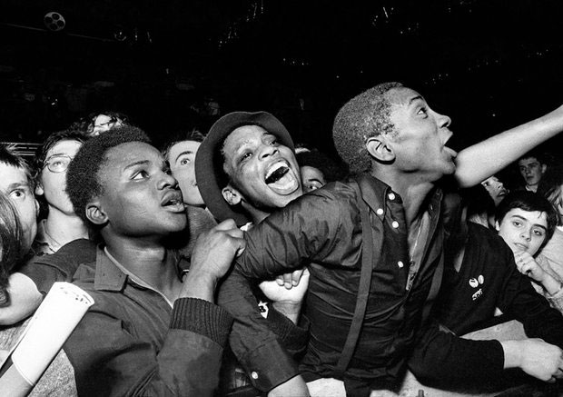 Specials fans in Leeds, 1981.