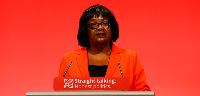 Diane Abbott calls on left to back EU free movement as workers' right