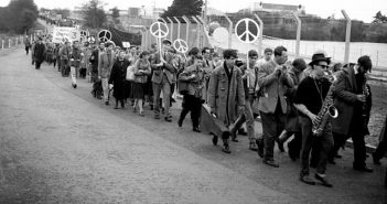 CND fighting for humanity against the horror of war, shaping a world without nuclear weapons