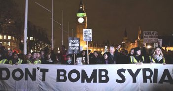 Dont Bomb Syria Protest